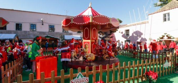 Aldeia dos Sonhos abre as portas com parada de Natal