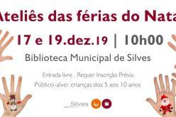 Ateliês das Férias do Natal terão lugar em Silves