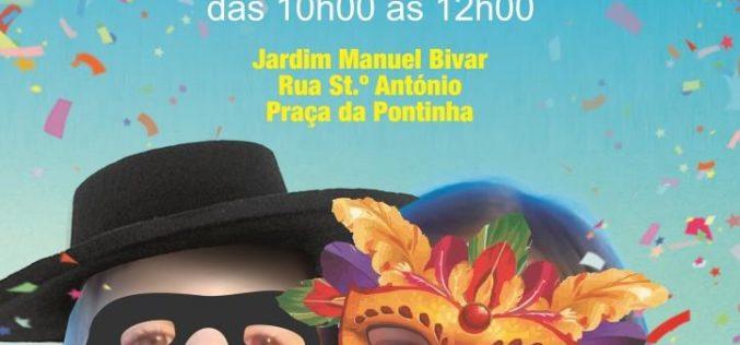 El Desfile infantil abre el carnaval de Faro