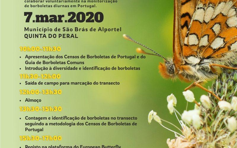 São Brás de Alportel recibe formación sobre censos de mariposas en Portugal
