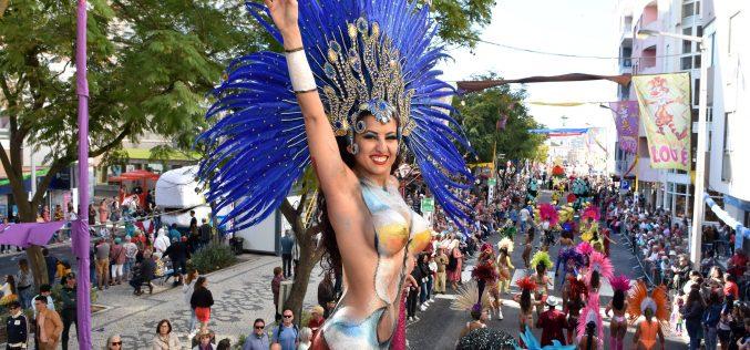 El cine fue el tema del Carnaval de Loulé 2020