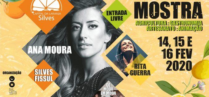 La IV Muestra Silves Capital de la Naranja presenta actuaciones de Rita Guerra y Ana Moura