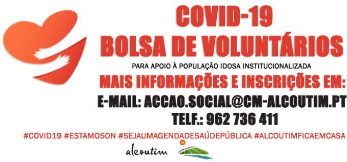 Alcoutim crea una bolsa de voluntarios para luchar contra Covid-19