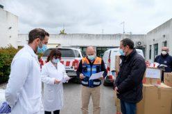 Loulé entrega equipos de protección a los centros de salud
