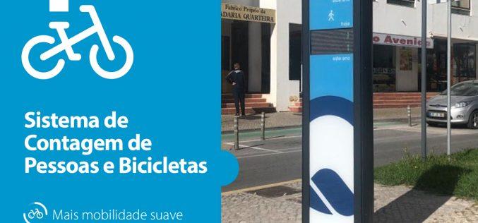 Quarteira Lab implementa el sistema de conteo de personas y bicicletas en la ciudad