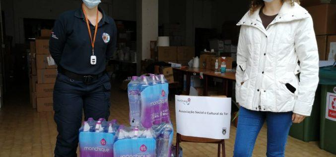 Sociedade da água de Monchique doa águas distribui equipamento de proteção