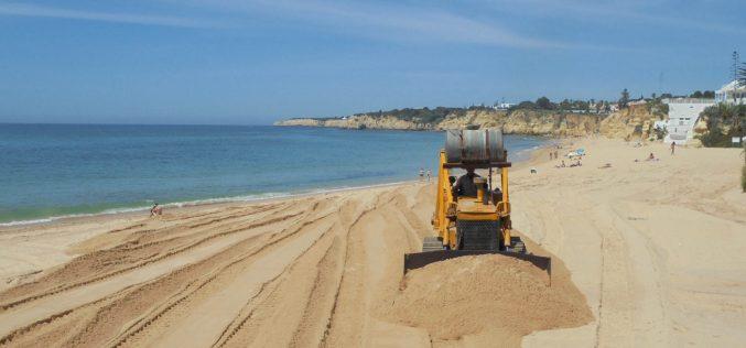 Silves prepara la zona de la playa de Armação de Pêra y Praia Grande