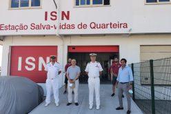Marinha refuerza la presencia en la ciudad de Quarteira