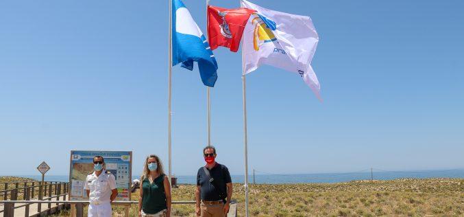 Bandeiras azuis hasteadas em todas as praias do concelho de Silves