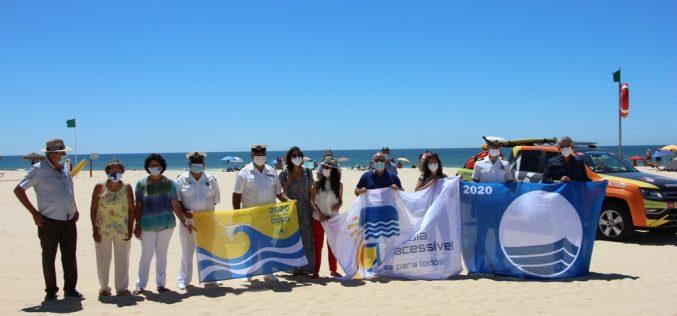Castro Marim luce bandera azul, playa accesible y calidad dorada en sus playas