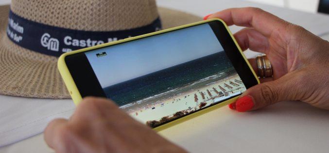 Praias de Castro Marim já têm imagem real em tempo real