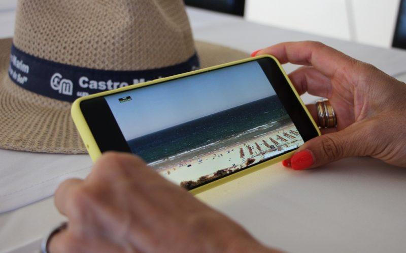 Es posible consultar el estado de las playas de Castro Marim en tiempo