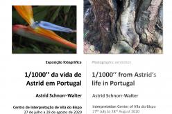 El Centro de Interpretación recibe la exposición fotográfica de la vida de Astrid en Portugal