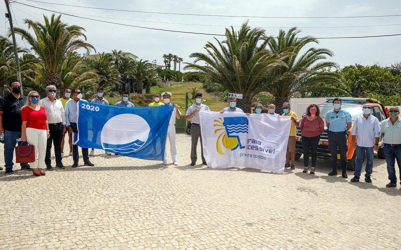 Lagos ondea la Bandera Azul en sus playas