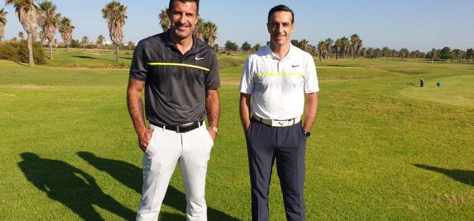 Luís Figo participa en el torneo de Golf Solidario 2020