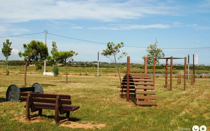 Parque Urbano Nascente de Armação de Pêra recebeu novos equipamentos