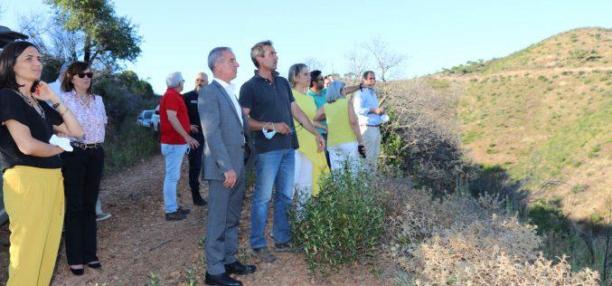 João Catarino visitó la sierra de Silves