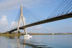 El Puente Internacional de Guadiana es «Ponte Mandela» por un día