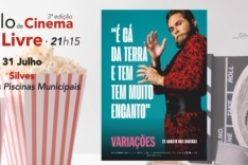 """Ciclo de cinema ao ar livre leva êxito """"Variações"""" à grande tela, em Silves"""