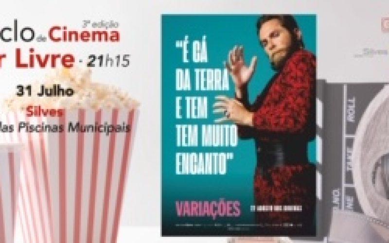 Silves presenta el cine al aire libre