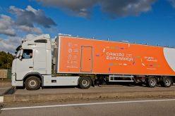 El camión de la Esperanza ayuda a disfrutar de las playas de Olhão de forma segura