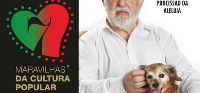 El actor Ruy de Carvalho apadrina patrocina la «Procesión del Aleluya» en São Brás de Alportel