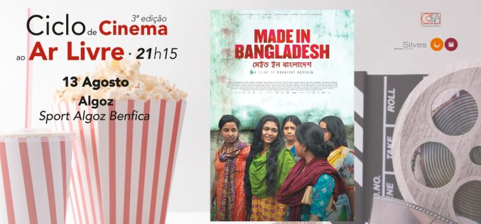 El ciclo de cine al aire libre pasa esta semana en Algoz y Tunes