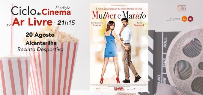 El ciclo de cine de verano cierra esta semana con sesiones en Alcantarilha y Pêra