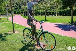 La zona de la Ribera de Silves recibe un conjunto escultórico alusivo al bienestar