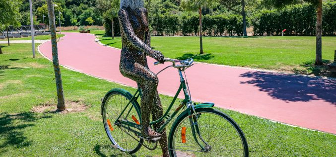 Zona ribeirinha de Silves recebe conjunto escultórico alusivo ao desporto e bem-estar