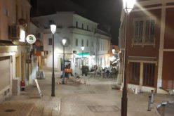Silves completó la sustitución de la iluminación pública en el centro de la ciudad
