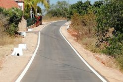 Silves concluiu a pavimentação do Caminho da Amendoeira