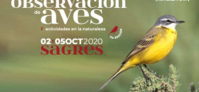 Sagres prepara el Festival de Actividades de Observación de Aves y Naturaleza