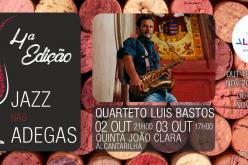 Jazz en las Bodegas vuelve con el cuarteto de Luis Bastos