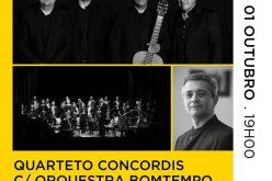 """El VII Festival Internacional de Guitarra finaliza con el espectáculo """"Quarteto Concordis"""""""
