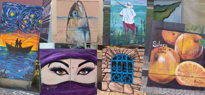 Silves encerra a terceira fase do projeto de arte urbana