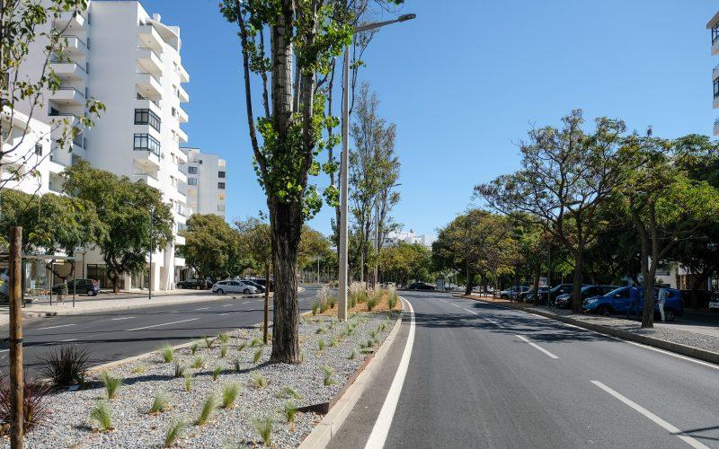 Quarteira recalifica espacios verdes
