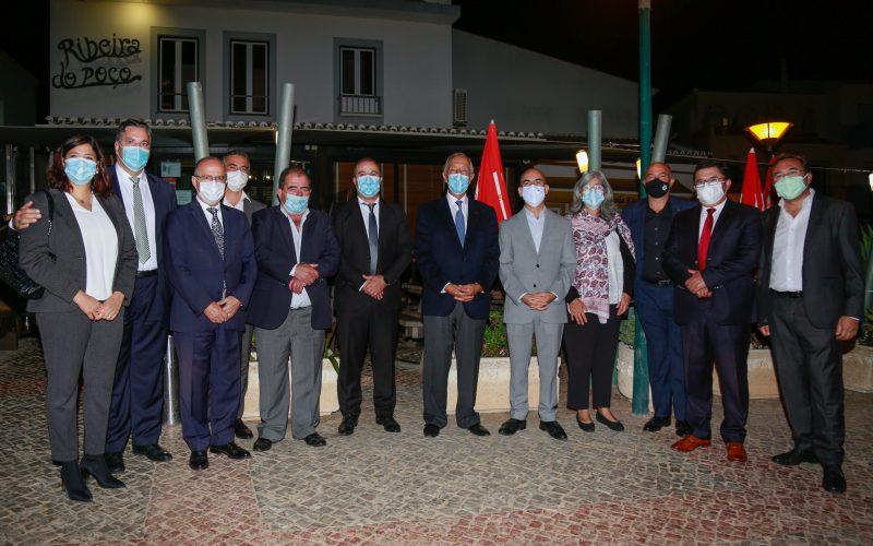 El Presidente de la República inauguró el equipamiento de Vila do Bispo