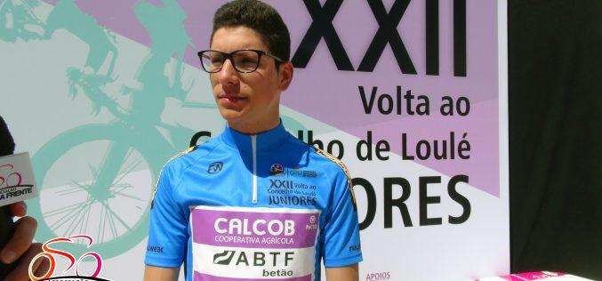 Loulé apoya al ciclista João Almeida