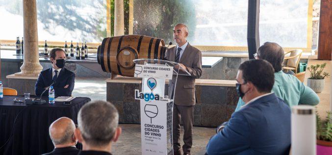 """El concurso """"Ciudades del Vino 2020"""" se presentó en Lagoa"""