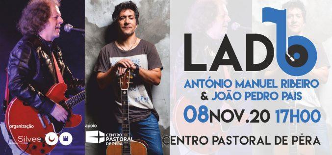 Lado B presenta en concierto a João Pedro Pais y António Manuel Ribeiro