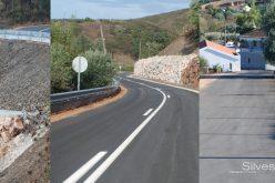 Silves finaliza los trabajos de en la carretera Boião-Azilheira
