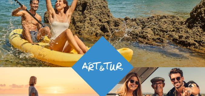 Turismo del Algarve distribuye «sonrisas» en el Festival de Turismo Art & Tur