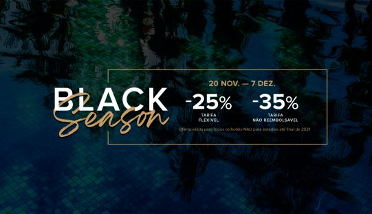 Hoteles NAU lanza su campaña Black Season con promociones hasta el 35% de descuento