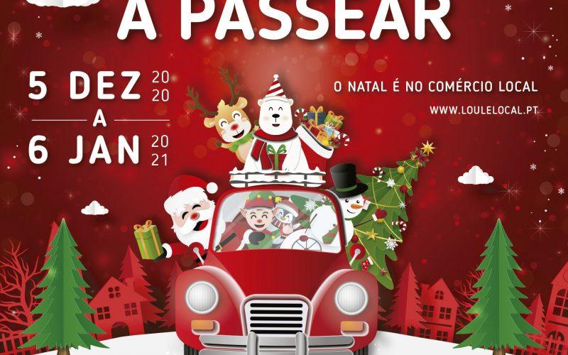 """""""Navidad para pasear"""" es el lema de las celebraciones en tiempo de pandemia Loulé"""