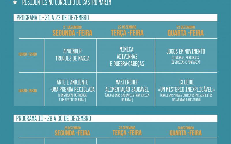 Castro Marim organiza el Especial de Navidad online para los niños