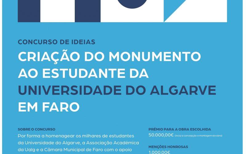 La Asociación Académica de la UAlg crea un concurso de ideas para la creación del monumento estudiantil
