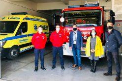 São Brás de Alportel reforzó el apoyo a los bomberos voluntarios para enfrentar el año de la pandemia