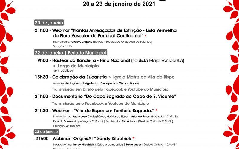 Vila do Bispo celebra la fiesta municipal el próximo 22 de enero