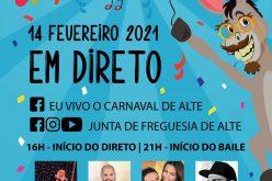 El tradicional Carnaval de Alte es vivido en 2021 a través de plataformas digitales